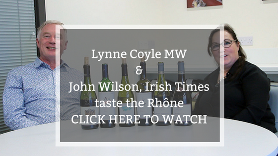 Video: taste the Rhone with Lynne Coyle MW and John Wilson, Irish Times